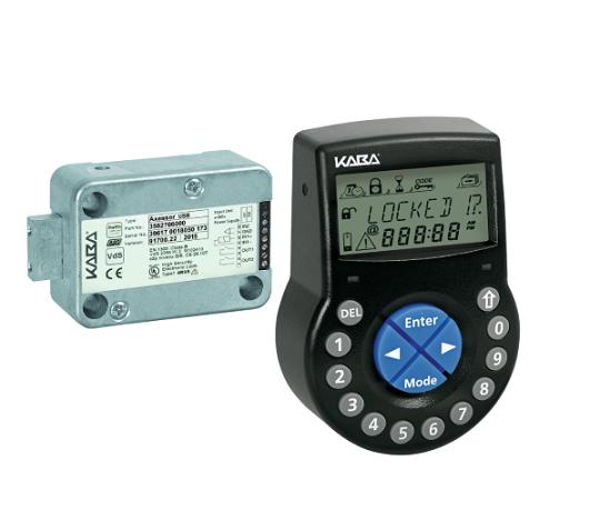 Electronical numerical safe locks