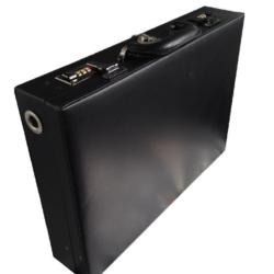 Távirányítós pénzszállító táska hangjelzéssel + füstpatronnal